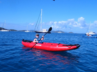 Customer Photo - 13' Saturn Inflatable Expedition Kayak RK396 - On The Ocean