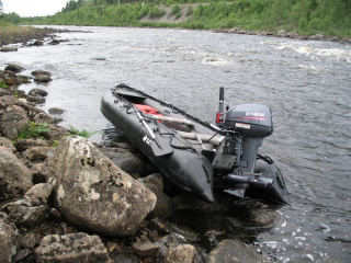 15' XL KaBoat - Military Black (Alaska Series)