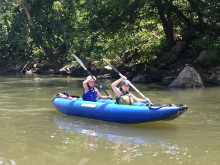 Customer Photo - 13' Saturn Inflatable Expedition Kayak RK396 - Great Times