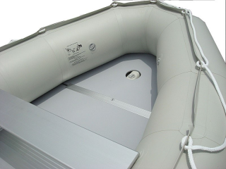 15' Saturn Inflatable Boat - SD470 - w/ Aluminum Floor - Front Floor Section