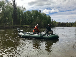 "12'6"" Saturn Whitewater Raft - Alaska Guide Raft"