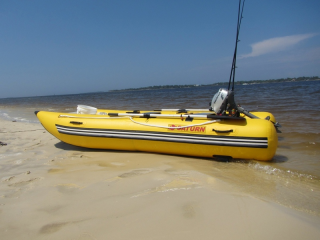 Customer Photo - 11' Saturn Inflatable Catamaran MC330