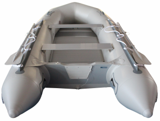 12.5' Budget Boat by Saturn - Grey Rear View