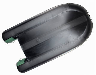 10' Saturn Inflatable Fishing Boat (FB300X) - Bottom Showing Extra Thick PVC Protection Strips