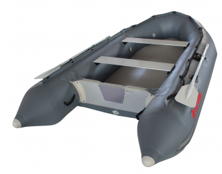 2020 12' Saturn Dinghy - Dark Grey - Rear View