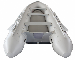 2020 14' Saturn Performance KaBoat (Light Grey) - Transom