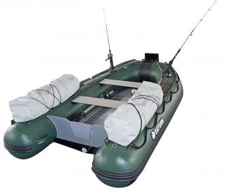 10' Saturn Inflatable Fishing Boat (FB300X) - Dark Green