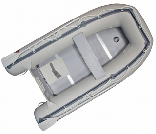 8.6' Mars Inflatable Boat - Top View