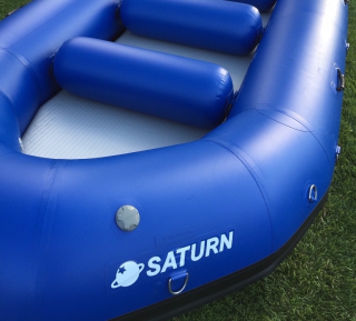 2016 14'6'' Saturn Whitewater Raft - Screen Printed Logo