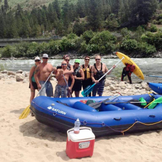 Customer Photo - 14' Saturn Whitewater Raft - Payette River Fun