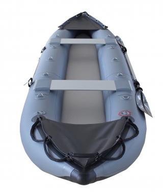 2021 Model 13' Saturn Fishing Kayak (FK396) - Dark Grey