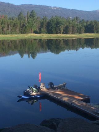 Customer Photo - 13' Saturn Inflatable Expedition Kayak RK396 - Perfect For Your Cabin!