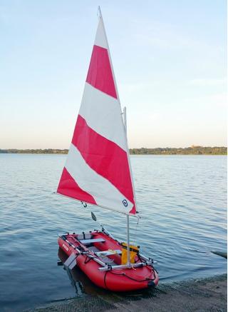 Customer Photo - 12' Saturn KaBoat SK396 - Red