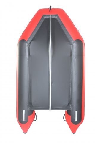2020 11' Saturn SD330 Dinghy (Red) With Upgraded C7 Style Inflation Valves - Bottom View