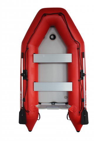 2020 11' Saturn SD330 Dinghy (Red) With Upgraded C7 Style Inflation Valves - Top View