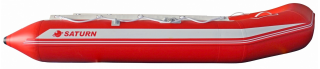 11.9' Budget Boat by Saturn - Red Side View