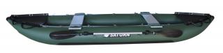 2021 Model 13' Saturn Fishing Kayak (FK396) - Green - Side View