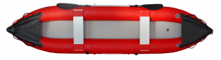 2021 14' Saturn Fishing Kayak Red FK430 - Top View