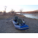 Customer Photo - Older Version 12' Saturn Raft/Kayak Blue w/ Custom Frame