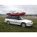 Customer Photo - Older Version 12' Saturn Raft/Kayak RED w/ Custom Frame