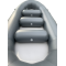 "15'8"" Saturn Triton Whitewater Raft - Roomy Interior"