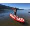 Cannon Janson rockin' the Saturn Airfast Kayak SUP!