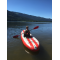 Cannon rockin' the Saturn Airfast Kayak SUP!