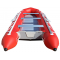 15' Saturn Inflatable SD460 Budget Boat - Red Rear View
