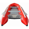 11.9' Budget Boat by Saturn - Red Rear View