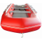 13.5' Inflatable Boat SD410 by SATURN - Front View