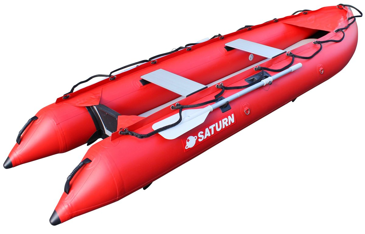 12' Saturn Standard Series KaBoat - Red