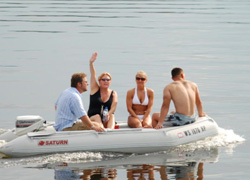 Saturn inflatable boat testimonial 6